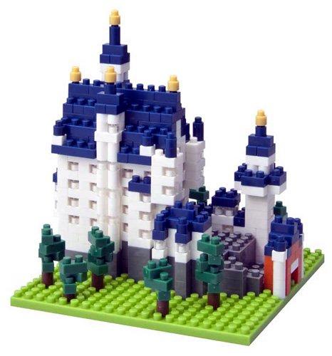 Nanoblock Architecture - Cinderellas Castle Neuschwanstein Castle