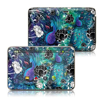 Peacock Garden Design Protective Decal Skin Sticker For Latte Ice Smart 5 Inch Hd Smart Media Tablet front-999919