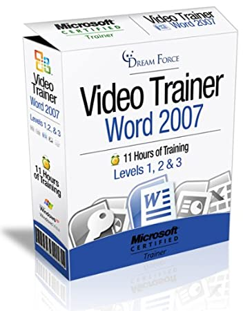 Word 2007 Training Videos - 11 Hours of Word 2007 training by Microsoft Office Specialist Master Instructor: 2000, XP (2002), 2003, 2007 and Microsoft Certified Trainer (MCT), Kirt Kershaw