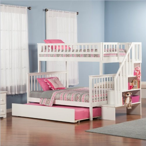 Bunk Beds Twin Over Full 1166 front