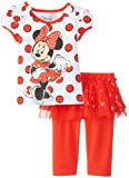 Disney Baby-Girls Minnie Infant Girl Legging with Tutu Set