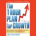 The One Hour Plan for Growth: How a Single Sheet of Paper Can Take Your Business to the Next Level (       UNABRIDGED) by Joe Calhoon Narrated by Danny Campbell