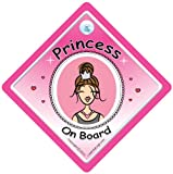 Princess On Board Car Sign Princess On Board Sign Princess On Board Contemporary Baby On Board Princess Sign Princess Car Sign Princess Sign Baby on Board Decal Bumper Sticker Baby Sign Baby Car Sign Novelty Car Sign