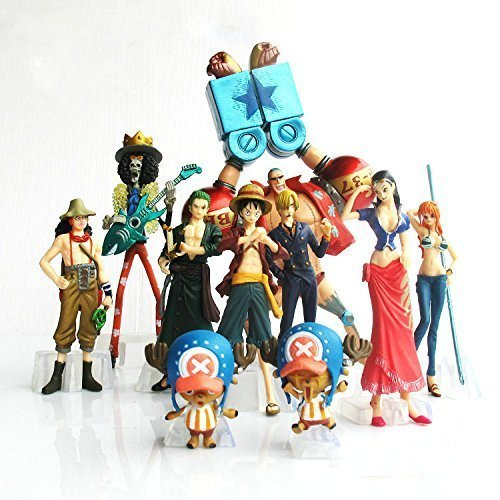 Anime-10Pcsset-One-Piece-2-YEARS-LATER-Luffy-Nami-Roronoa-Zoro-Chopper-Usopp-Brook-Figure-Toys-PVC-Collectable-Model-Dolls