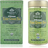 Organic India Tulsi Green Tea Combo (25 Infusion Bags+100gm)
