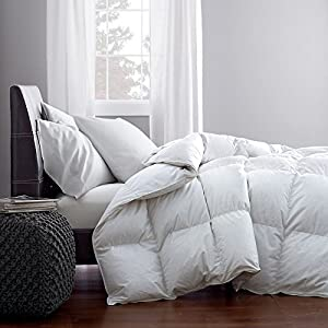 12 DAYS of SHARING DEAL OF THE DAY*** The Best White Goose Down Alternative Comforter Duvet Hypoallergenic Double Brushed for Superior Softness (King)