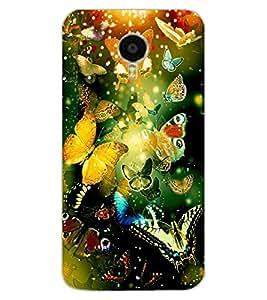 ColourCraft Beautiful Butterflies Design Back Case Cover for MEIZU BLUE CHARM NOTE 3