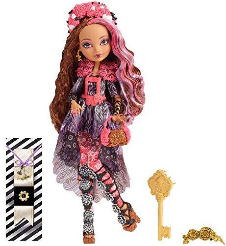 Mattel Ever After High CDM51 - Frühlingsfest Cedar Wood Puppe
