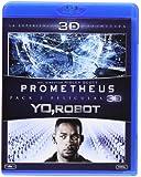 Pack: Prometheus + Yo, Robot (BD 3D) [Blu-ray]