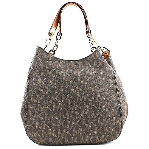9ea136bca5da Michael Kors Fulton Large Logo Shoulder Bag - SHOP HANDBAG BOUTIQUE
