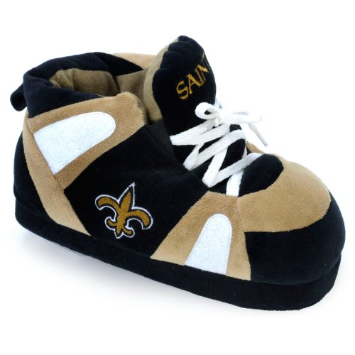 Comfy Feet NFL Sneaker Boot Slippers - New Orleans Saints at Amazon.com
