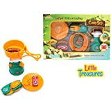 Mini Camp Gas-stove And Cooking Camping Expansion Set From Little Treasures Is Sleek And Cool, Sure To Catch The...