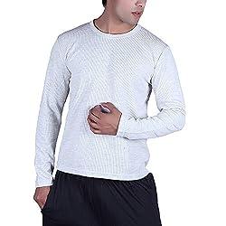 illuminati Men's Cotton Lycra Sweatshirt (FBREcru_White_Small)