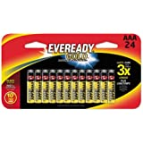 Eveready Alkaline Batteries Aaa Carded 24 Pack