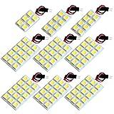 【断トツ336発!!】 AHR20系 エスティマハイブリッド LED ルームランプ 9点セット [H18.6~] トヨタ 基板タイプ 圧倒的な発光数 3chip SMD LED 仕様 室内灯 カー用品 HJO