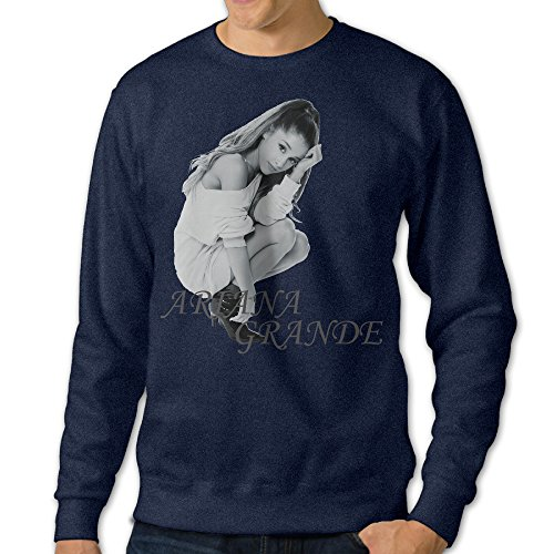 JML93 Men's Long Sleeve American Singer And Actress Sweater - Navy Size L