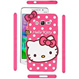 Yes2Good Hello Kitty Back Cover For Samsung Galaxy E5 - Pink