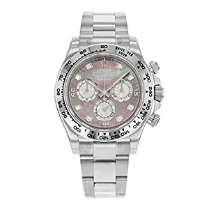 Rolex Daytona 116509 DKLTMD 18K White Gold Automatic Men's Watch from Rolex