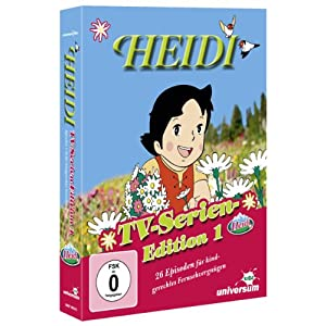 Heidi - TV-Serien Edition 1 [4 DVDs]