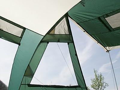 Skandika Zelt Jasper II, green, 615x400 cm