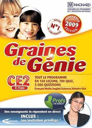 Graine de génie CE2 2008-2009
