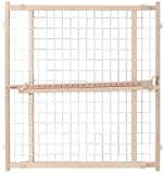 Evenflo Position and Lock Tall Wood Mount Gate