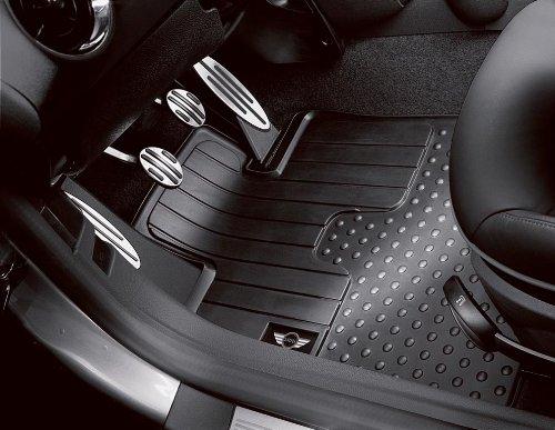 MINI Cooper Genuine Factory OEM 51470441790 All Season All Floor Mats 2007 - 2012 (set of 2 front mats) (Mini Cooper Mats compare prices)