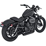 Vance and Hines Shortshots Staggered Full System Exhaust for Harley Davidson 20 - One Size