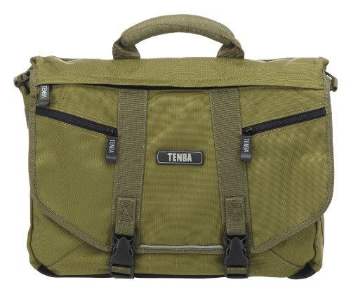 Tenba 638-222 Messenger Small Bag for Camera/Laptop - Olive