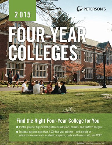 Four-Year Colleges 2015 (Peterson'S Four Year Colleges)