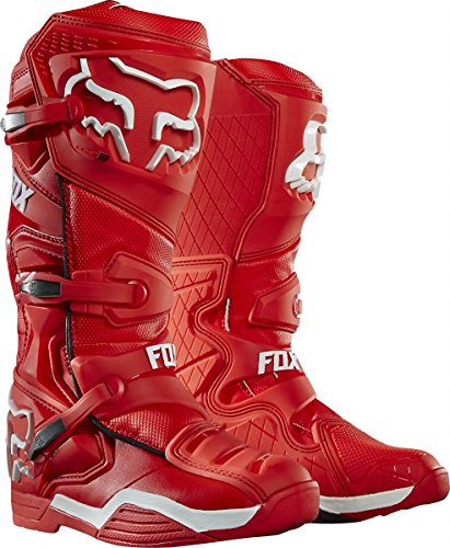 Bottes Motocross Fox Comp 8 Rouge
