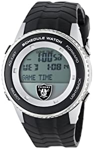 NFL Mens NFL-SW-OAK Schedule Series Oakland Raiders Watch by Game Time