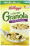 Kelloggs Granola with Raisins, Low Fat, 18-Ounce Boxes (Pack of 5)