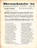 img - for Broadside Topical Song Magazine #54 Jan. 20. 1965 book / textbook / text book