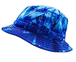 Colortone Bucket Hats Adult Spider Royal