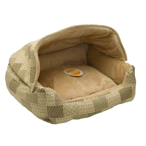 K&H Lounge Sleeper Hooded Pet Bed, 20-Inch by