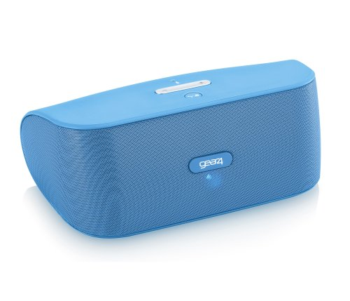 Gear4, Inc. PG748BLU StreetParty Wireless Portable Speaker for Any Smartphone with Bluetooth - Retail Packaging - Blue