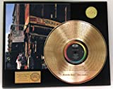 """Beastie Boys """"Hey Ladies"""" Laser Etched Gold Clad LP Record LTD Edition Display"""