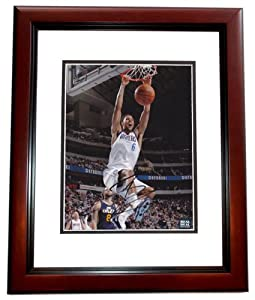 Tyson Chandler Autographed Hand Signed Dallas Mavericks 8x10 Photo - MAHOGANY CUSTOM... by Real Deal Memorabilia