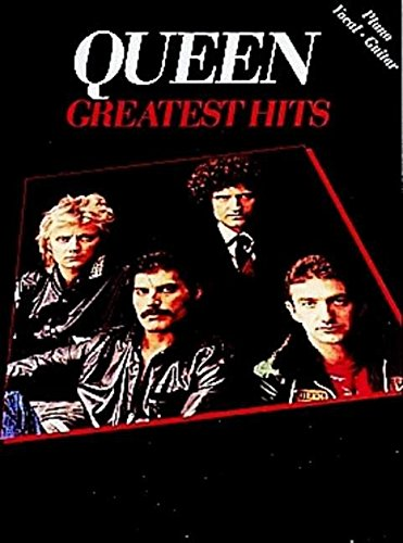 GREATEST HITS QUEEN V.1PVG: Piano, Vocal and Guitar