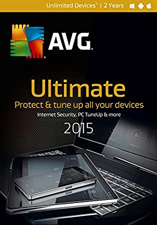 AVG ULTIMATE 2015, 2 YEARS  (Unlimited Users)
