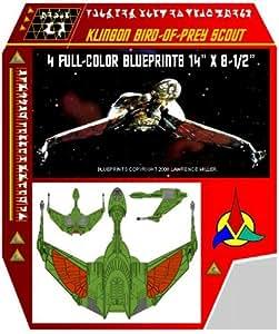 Klingon Bird of Prey Blueprints Star Trek