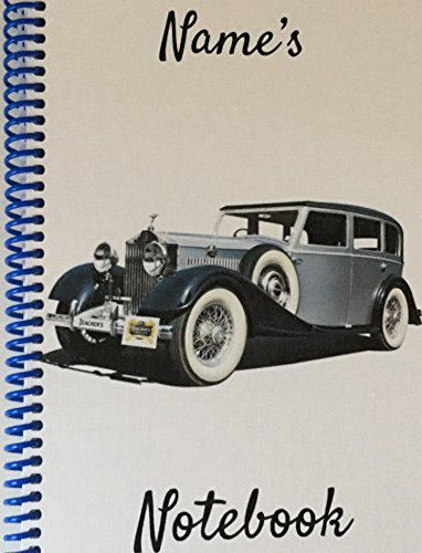 vintage-rolls-royce-personalised-notebook