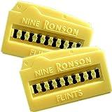 【RONSON】ロンソン ライター 純正 フリント(発火石) NINE RONSON FLINT ★2個セット★ 【MKN】