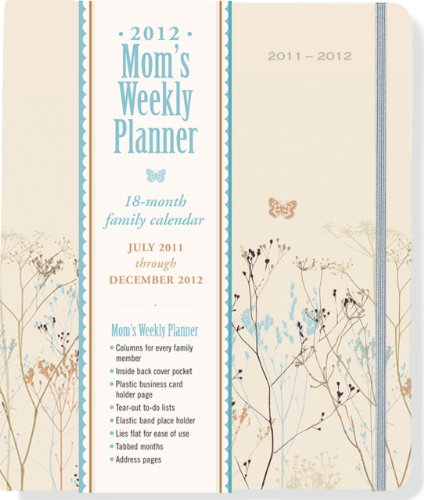 2012 Butterflies Mom's Weekly Planner