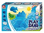 Blue Play Sand Set for Kids - 1lb (45...