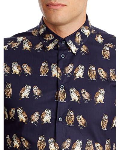 Dolce & Gabbana Camicia Uomo Hombre [Blu Navy]