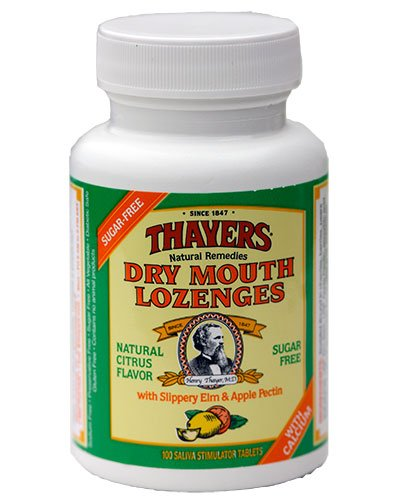 Thayers Dry Mouth Lozenge Natural Citrus Flavour 100 Count