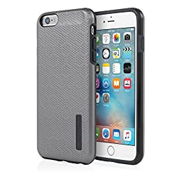 iPhone 6/6s Plus Case, Incipio [Hard Shell] [Dual Layer] DualPro Tension Case for iPhone 6/6s Plus-Gunmetal/Charcoal
