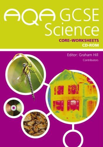 Aqa Gcse Science Core E-worksheets